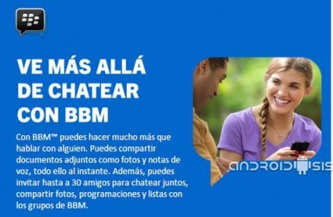 BBM para Android, más posibilidades que un simple chat