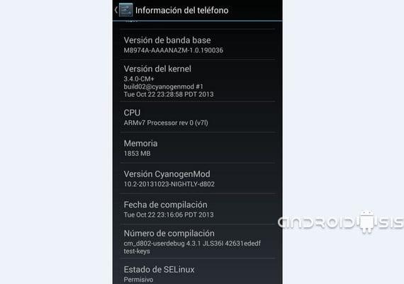 Cómo actualizar el LG G2 a Android 4.3.1 extraoficialmente