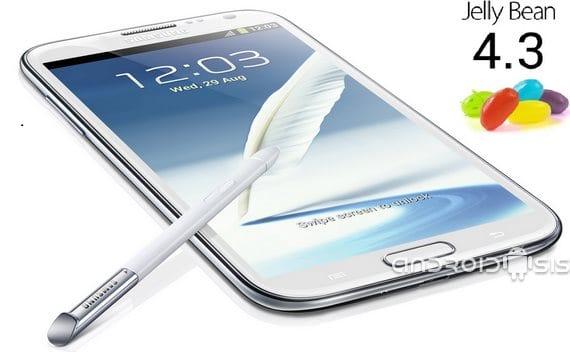 Cómo actualizar Samsung Galaxy Note 2 internacional a Android 4.3 oficial