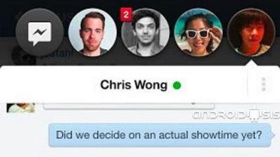Cómo añadir la funcionalidad de Chat Heads a Whatsapp