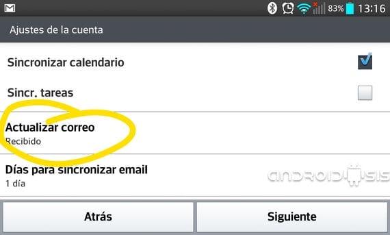 Cómo configurar tu correo Hot mail en Android