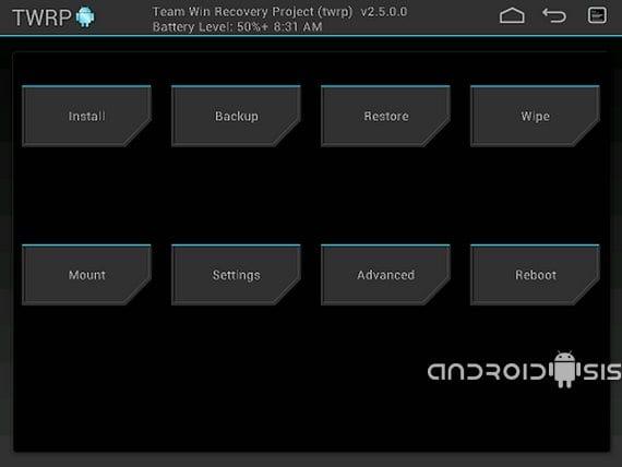 Cómo instalar el Recovery modificado en el LG G2
