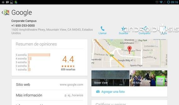Descarga Google Maps 7.4 apk actualización 8/11/13