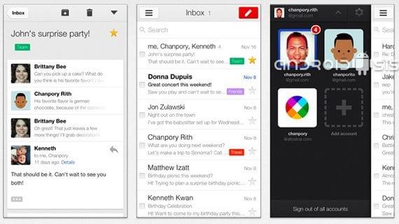 Descarga las nuevas Apps de Google portadas del Nexus 5: Email, Gmail y Google Calendar