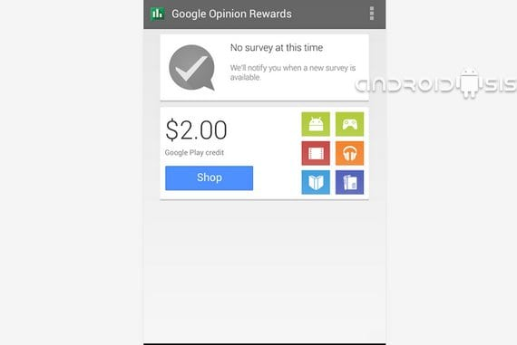 Google Opinion Rewards, gana créditos para gastar en el Play Store