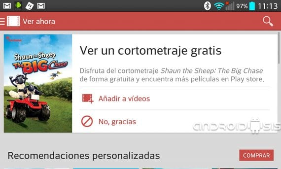 Google Play Movies en promoción, descarga cortometraje de animación totalmente gratuito