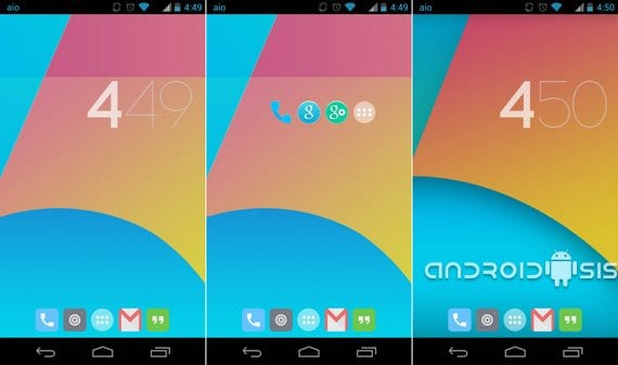 Launcher Google Experience Android 4.4 Kit Kat para todos los Android