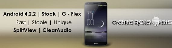 LG G2, Rom Android 4.2.2 con la funcionalidad del LG G-Flex