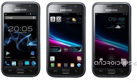 Samsung Galaxy S, Android 4.4 Kit Kat en versión Alpha