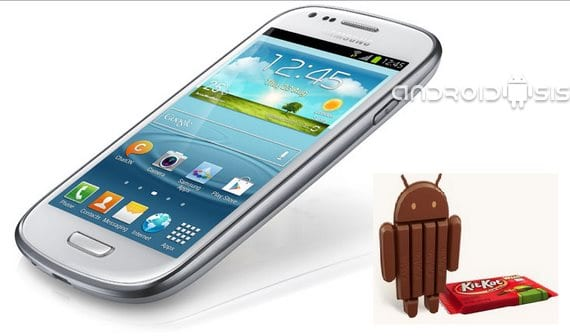 Samsung Galaxy S3 mini, primera Rom Android 4.4 Kit Kat en estado Alpha