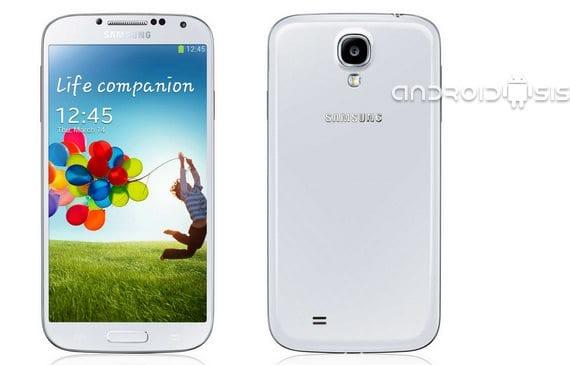 Samsung Galaxy S4, actualización oficial Android 4.3 española libre de operador.
