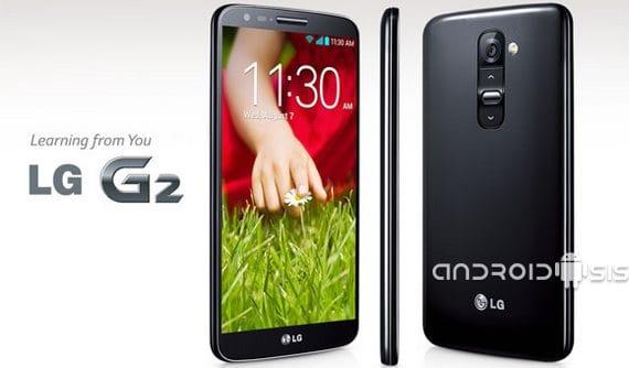 Tres maneras diferentes de capturar pantalla en el LG G2