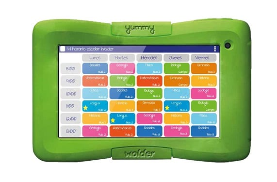 yummy YUMMY miTab 02 Wolder launch an Android tablet especially for the little kids