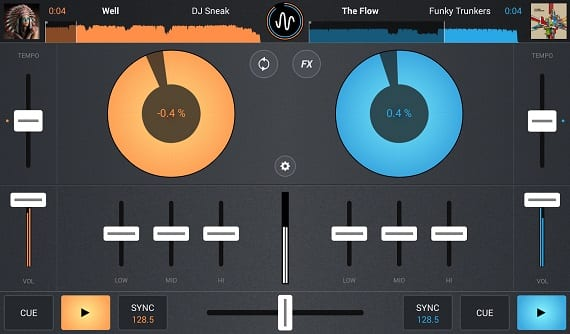 Cross Cross DJ turns your Android into a mixer