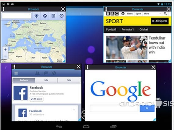 Aplicaciones increíbles para Android, Floating Browser