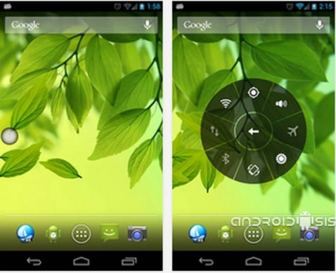 Aplicaciones increíbles para Android, Floating Toucher