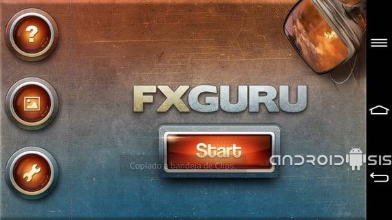 Aplicaciones increíbles para Android, Hoy FxGuru