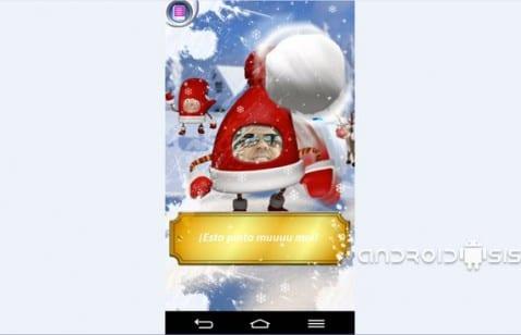 Cómo envíar divertidas Postales Navideñas desde tu terminal Android completamente gratis