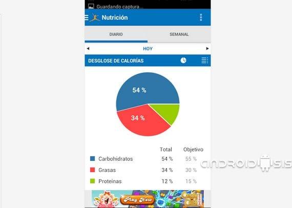 Controla las calorías de lo que comes con Contador de Calorías para Android