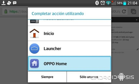 Descarga el Launcher del Oppo Find 5 y sus increíbles Wallpapers