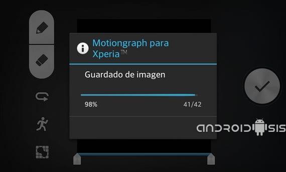 Motiongraph del Sony Xperia Z1 adaptada para cualquier Android