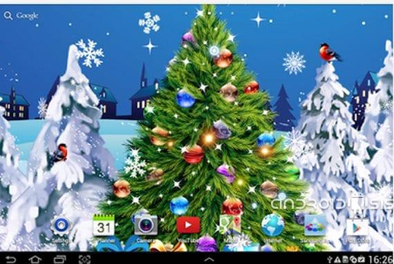 Prepara tu móvil para la Navidad, hoy Fondos de pantalla y Live Wallpapers