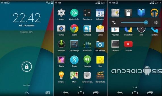 Samsung Galaxy S3, Rom Android 4.4.1 Kit Kat edición 1.4