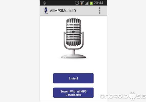 Aplicaciones increíbles para Android, Hoy AllMP3MusicID