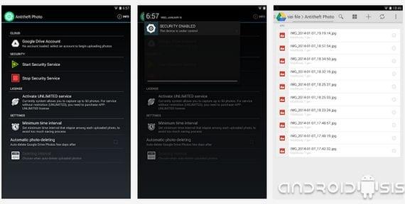 Aplicaciones increíbles para Android: Hoy Anti Theft Photo