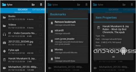 Aplicaciones increíbles para Android, hoy Fylee