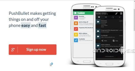 Aplicaciones increíbles para Android, Hoy Pushbullet