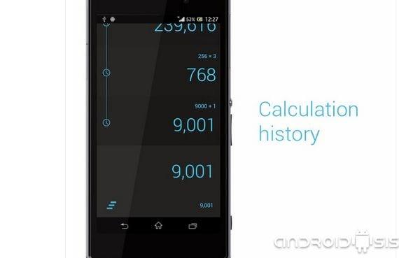 Calcu, una calculadora minimalista y superfuncional para tu Android