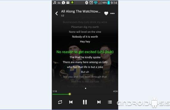 Descarga Lenovo Music Player el sensacional reproductor de Lenovo