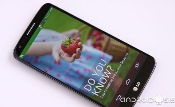 LG G2, mis primeras impresiones con la actualización oficial a Android 4.2.2 Kit Kat