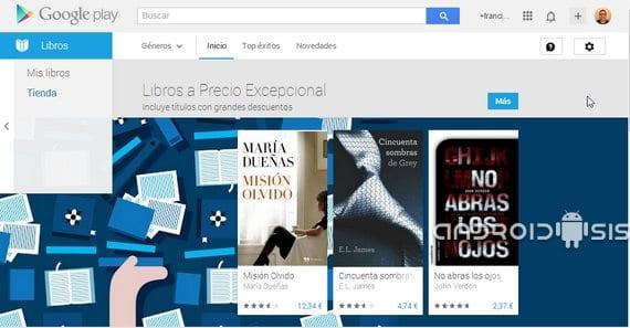 Play Books: cómo visionar contenido ajeno al Play Store