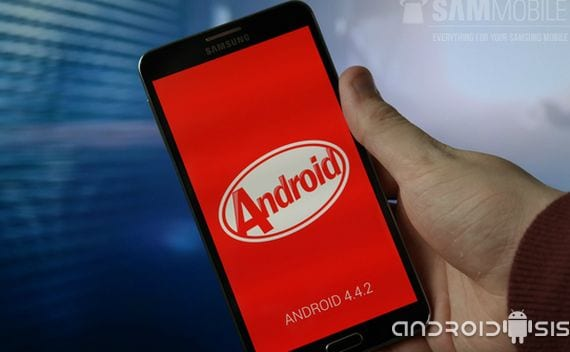 Samsung Galaxy Note 3, continua el despliegue oficial de Android 4.4.2 Kit Kat