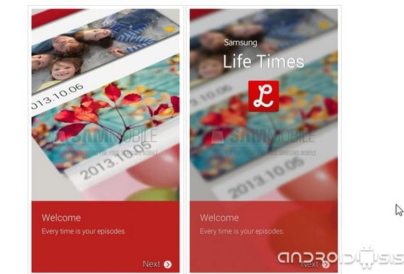 Samsung Life Times, does a new application or copying Samsung LG Life Square?