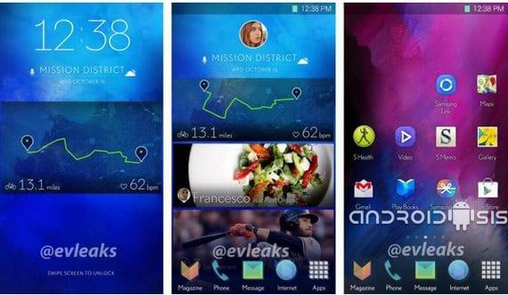 Se filtran las imágenes de un renovado TouchWiz de Samsung