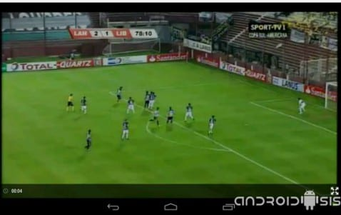 Todo el deporte en directo desde tu Android con Libre Directo, incluso la liga BBVA, la copara del Rey y la Champions