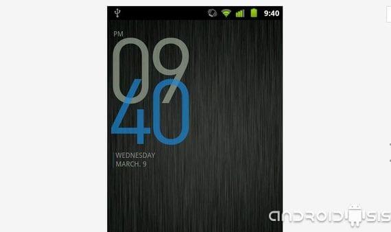 Widgets útiles para Android, BobClockD3