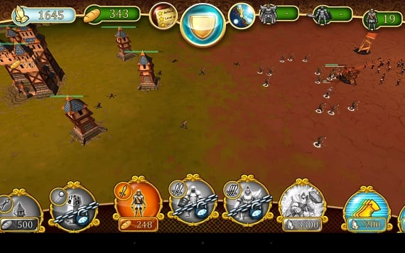 Battle Towers combate