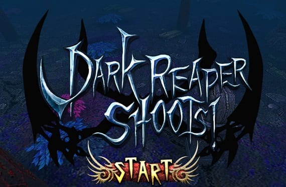 Dark Dark Reaper Reaper Shoots Shoots! is an arcade game with RPG elements important