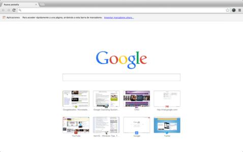 Nueva Pestaña de Chrome