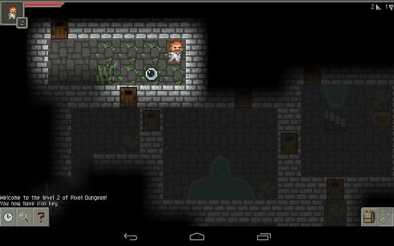 Pixel Pixel Dungeon is possibly the best RPG game on Android