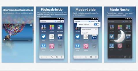 Navegadores Mini para Android