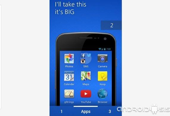 Aplicaciones Android para nuestros mayores, hoy Masil Home Simple Launcher