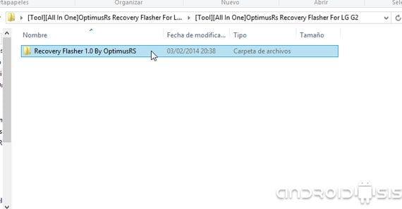 Cómo instalar el Recovery modificado a todas las versiones del LG G2