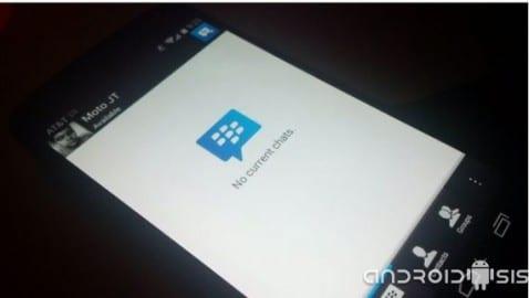 Descarga APK oficial de BBM para Android para versiones Gingerbread