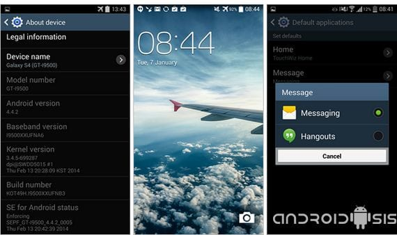 Samsung Galaxy S4 modelo GT-i9500 comienza a recibir Android Kit Kat desde Rusia y con amor