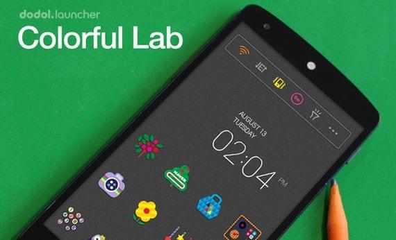 Aplicaciones increíbles para Android, Hoy dodol Launcher - phone decor